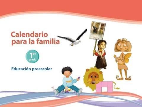 Calendario para la Familia 1er. Grado