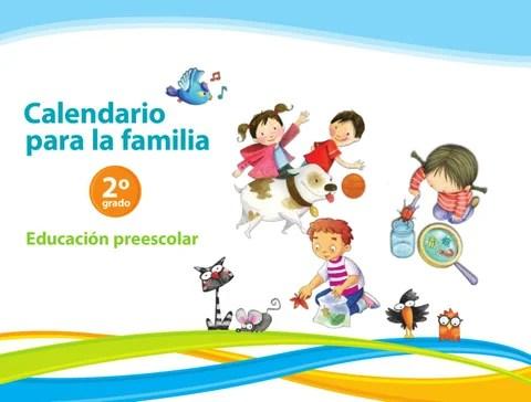 Calendario para la Familia 2do. Grado