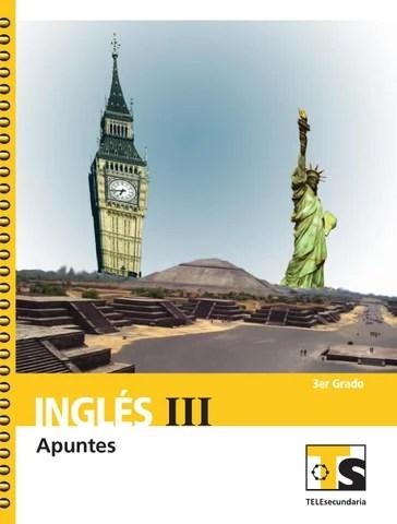 Apuntes 3er. Grado Inglés III