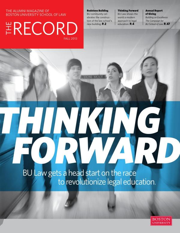The Record 2013 by Boston University School of Law - issuu