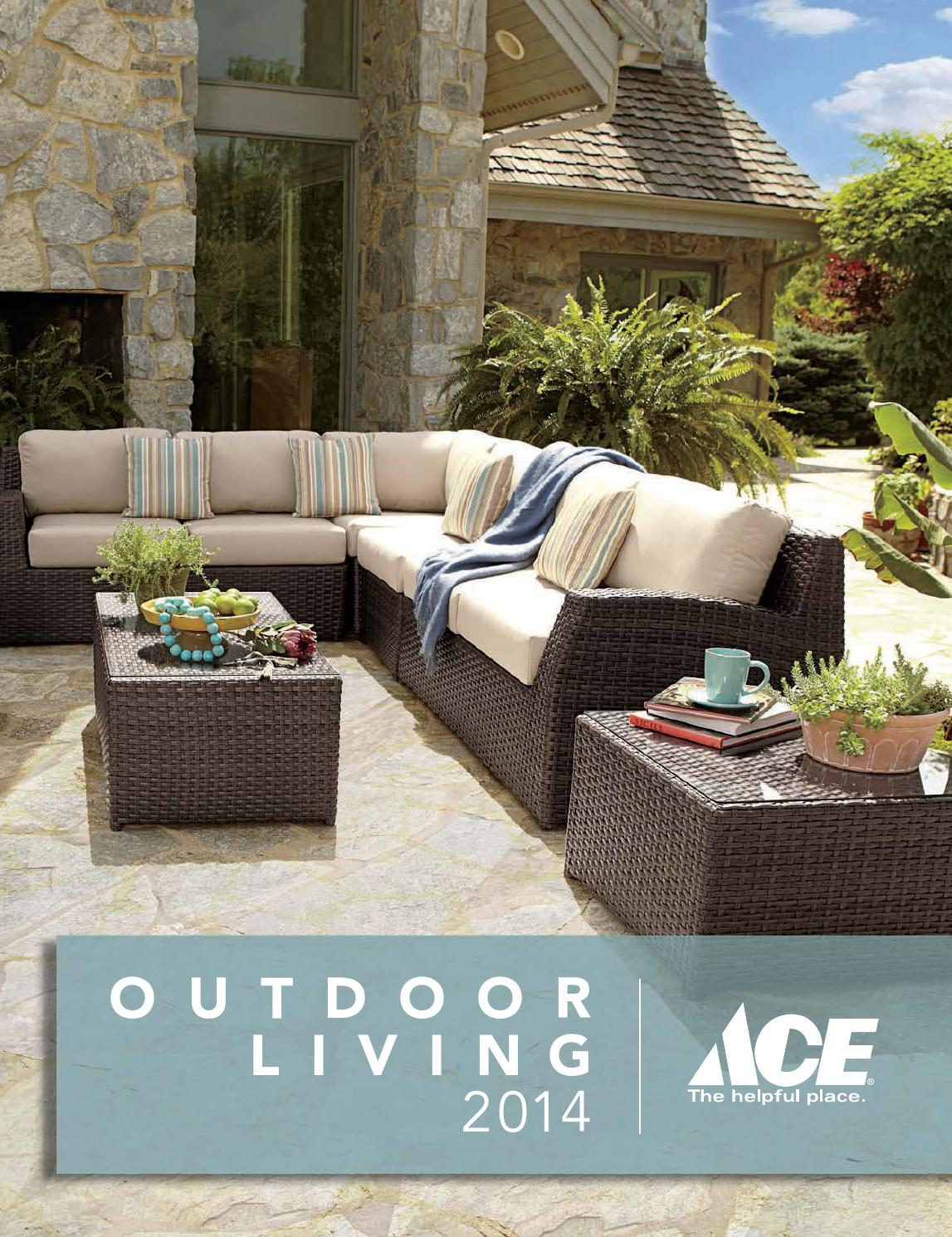 Ace Outdoor Living Catalog 2014 by FootSteps Marketing ... on Ace Outdoor Living id=75067