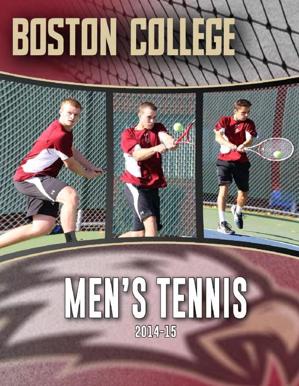 ISSUU - Boston College Men's Tennis Media Guide 2014-15 by ...