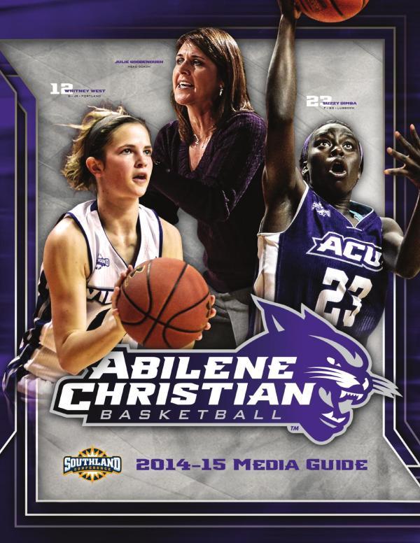 ACU 2014-15 Women's Basketball Media Guide by Abilene ...