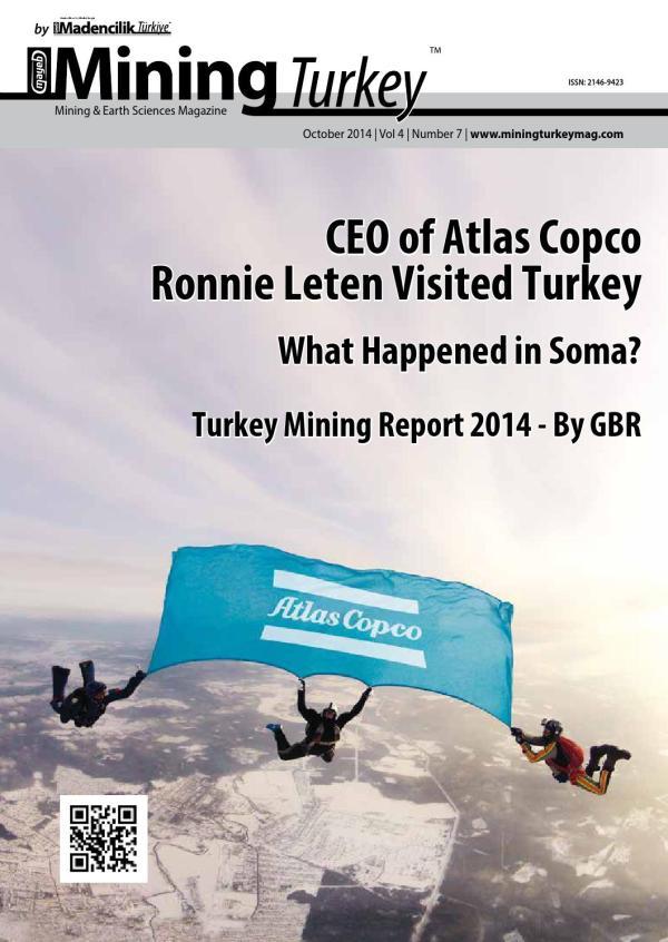 Mining Turkey - Issue: 7 by Mining Turkey Magazine - issuu