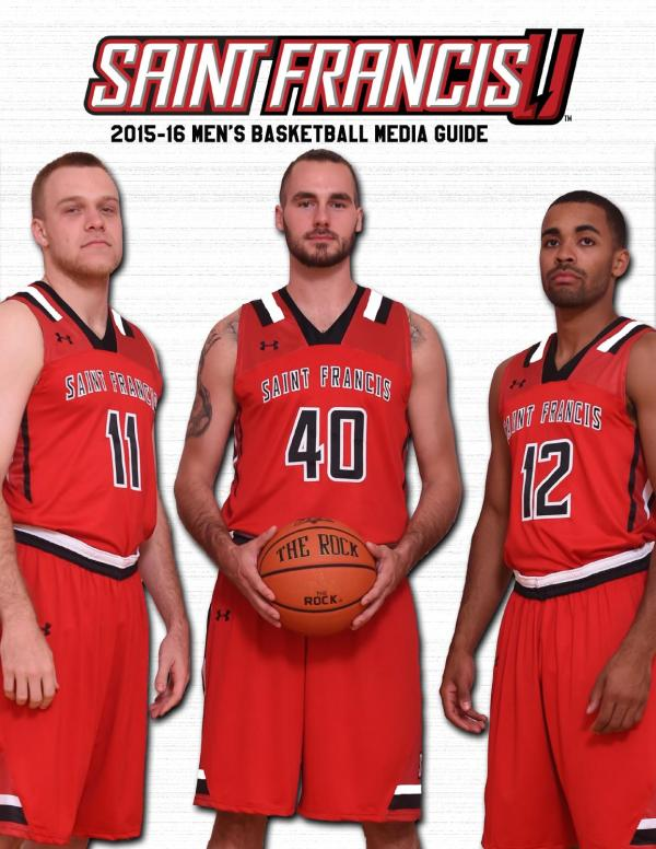 2015-16 Saint Francis Men's Basketball Media Guide by ...