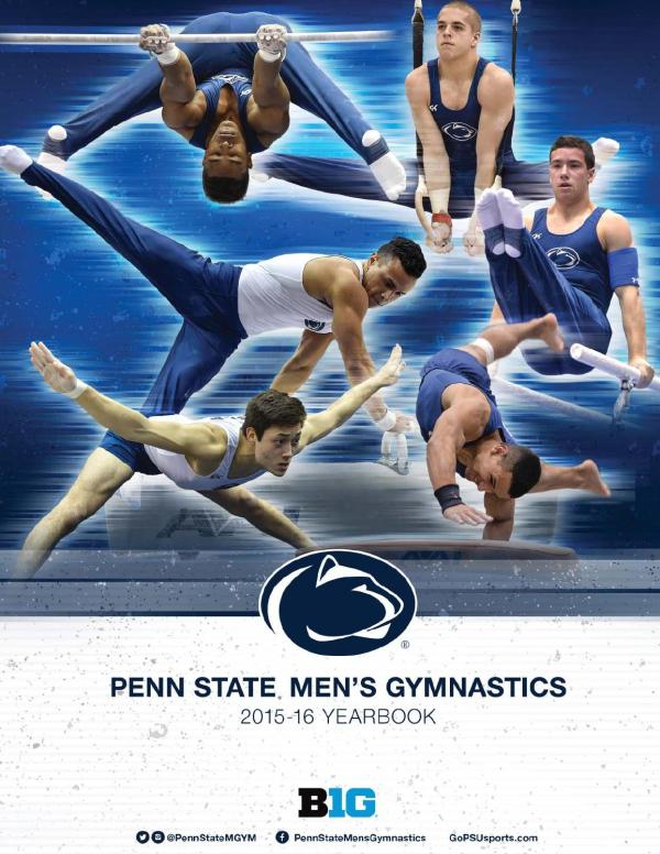 2016 Penn State Men's Gymnastics Yearbook by Penn State ...