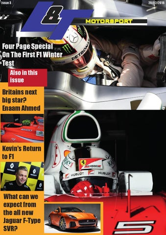 L&T Motorsport - February Edition - Issue 3