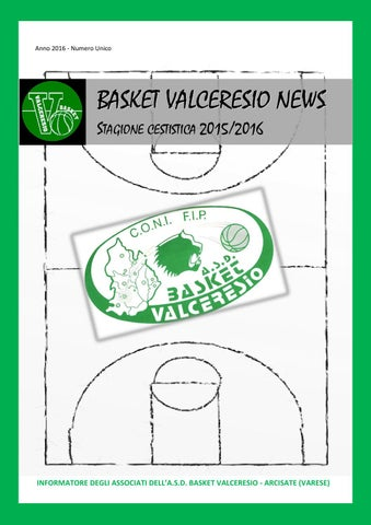 Basket Valceresio News 2016