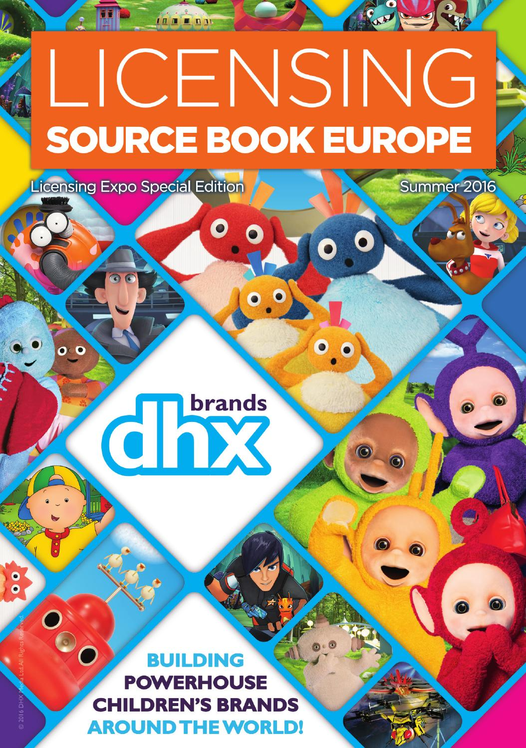 Licensing Source Book Europe Summer 2016 Issue By Max