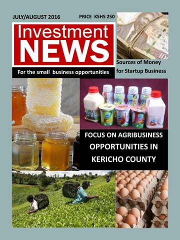 Investment News July - August 2016
