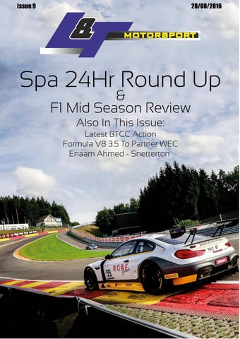 L&T Motorsport - August Edition - Issue 9