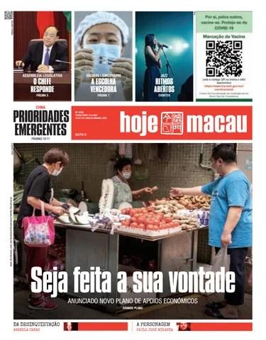 Hoje Macau 13 ABRIL 2021 #4746