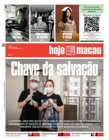 Hoje Macau 20 JULHO 2021 #4813