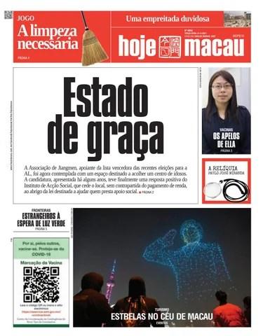 Hoje Macau 21 SETEMBRO 2021 #4857