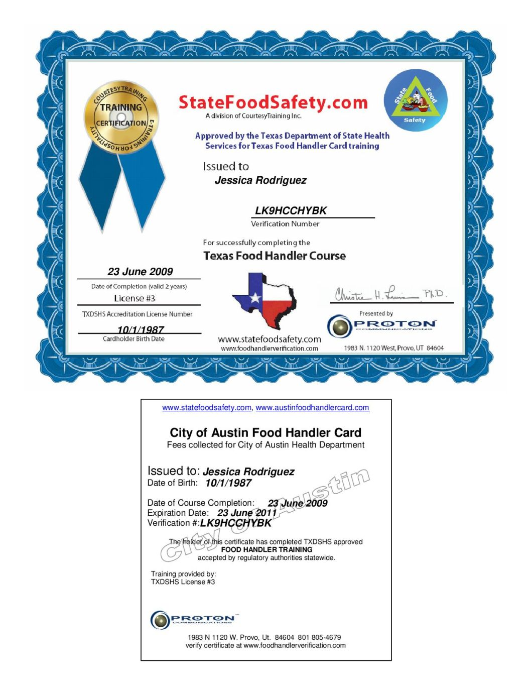 Austin Food Handlers License Onvacationsite