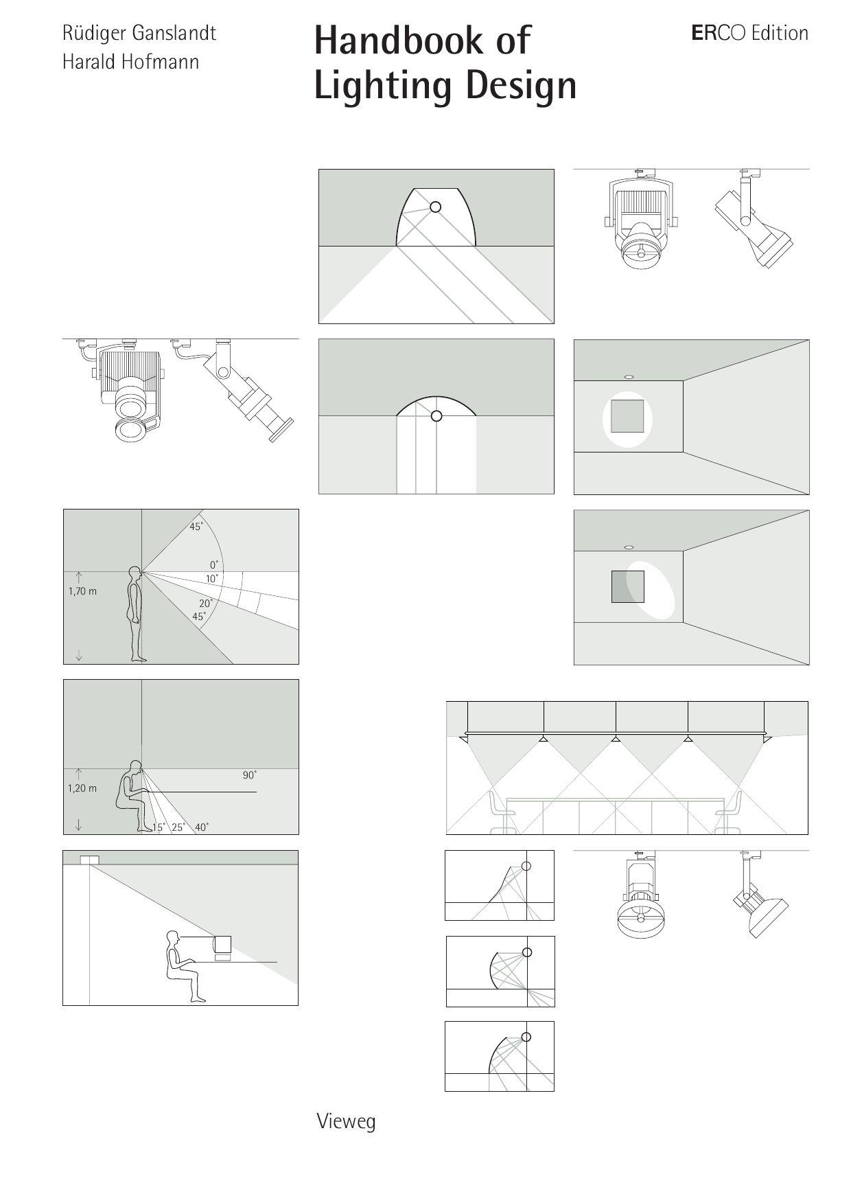erco handbook of lighting design by