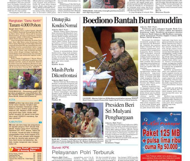 Edisi  Balipost Com
