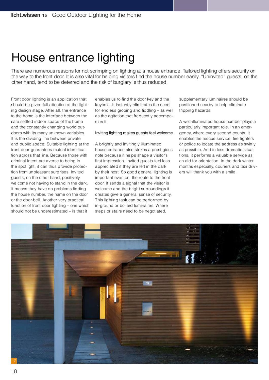licht wissen 15 outdoor lighting by