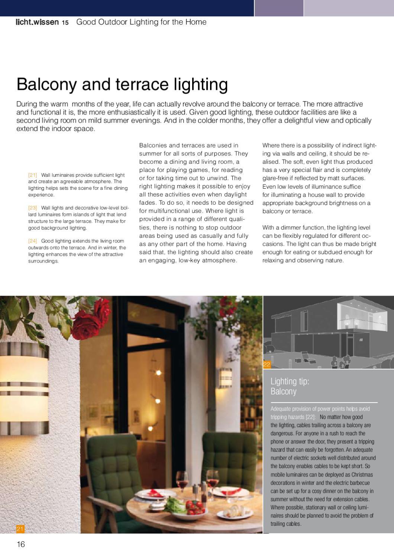 licht wissen no 15 good outdoor lighting for the home by licht de issuu