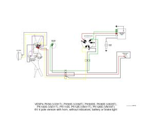 Vespa PK wiring diagrams by et3px et3px  Issuu