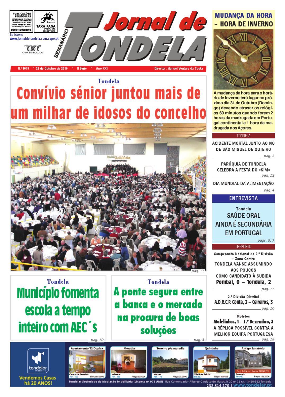 Finde einzigartige unterkünfte bei lokalen gastgebern in 191 ländern. JT 1019 by Jornal Tondela - Issuu