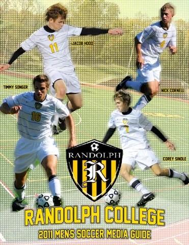 2011 Randolph College Men's Soccer Guide by Randolph ...
