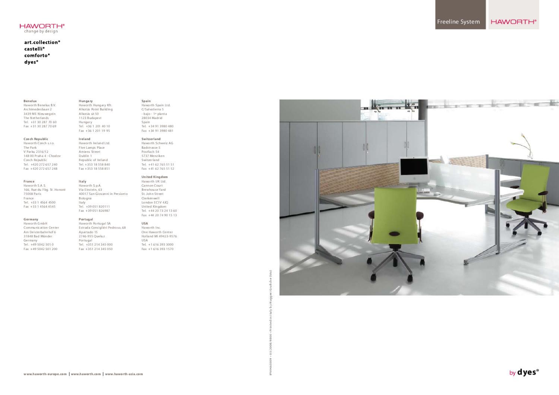 Piedino/terminale per sedia plia castelli 3,00 €. Freeline System Sistema Di Scrivanie Haworth Italia Arredo Ufficio By Haworth Italia Issuu