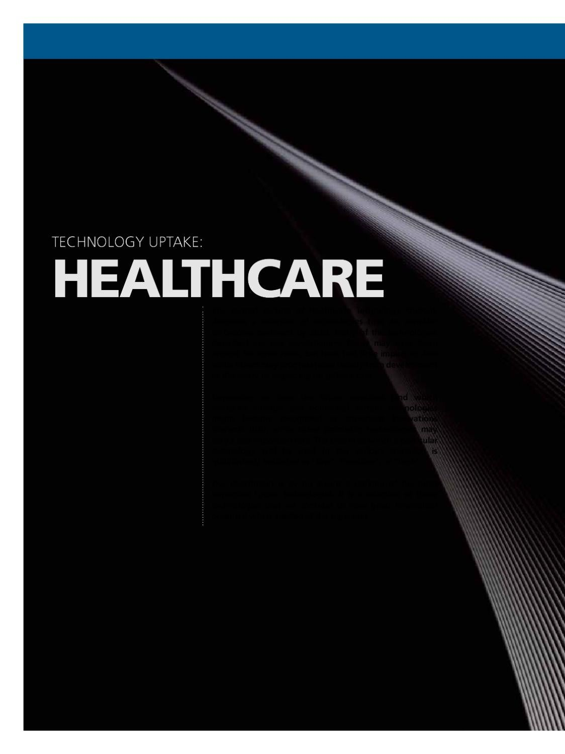 Technology Outlook 2020 Healthcare by DNV GL old account