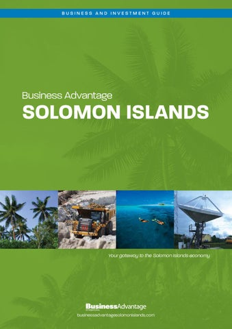 Business Advantage Solomon Islands 2012 13 By Business
