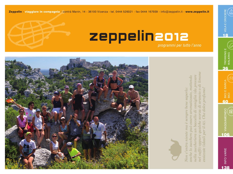 Catalogo Zeppelin 2012 By Zeppelin Viaggi Issuu