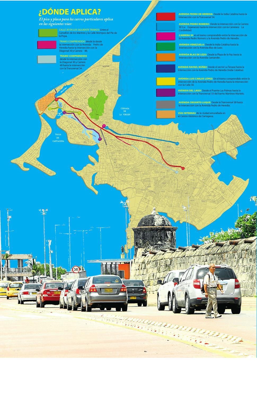 Mapa Pico Y Placa By El Universal Cartagena Issuu