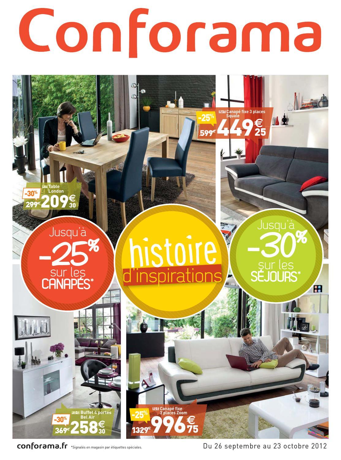 conforama catalogue26 septembre 2012 by