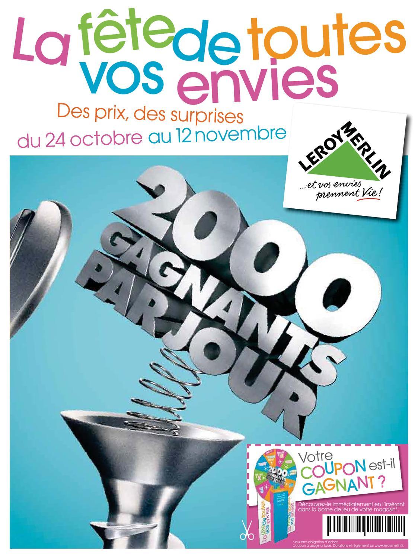 Leroy Merlin Catalogue 24 Octobre 12 Novembre 2012 By Promocatalogues Com Issuu