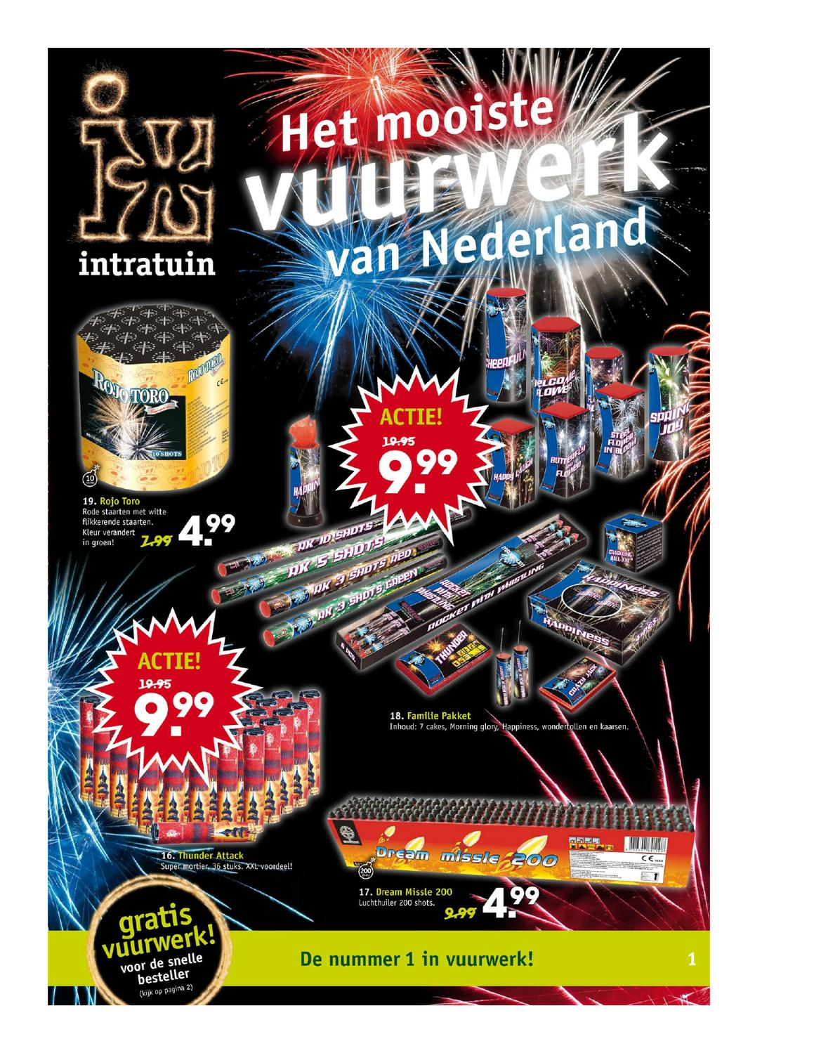 Intratuin Vuurwerk Folder 20122013 By Kev In Issuu