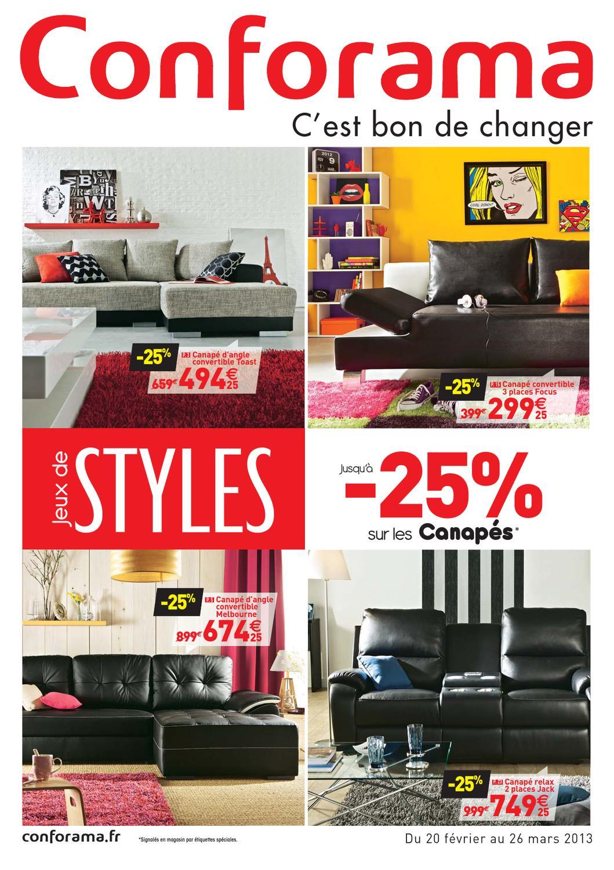 conforama catalogue 20 fevrier 26 mars