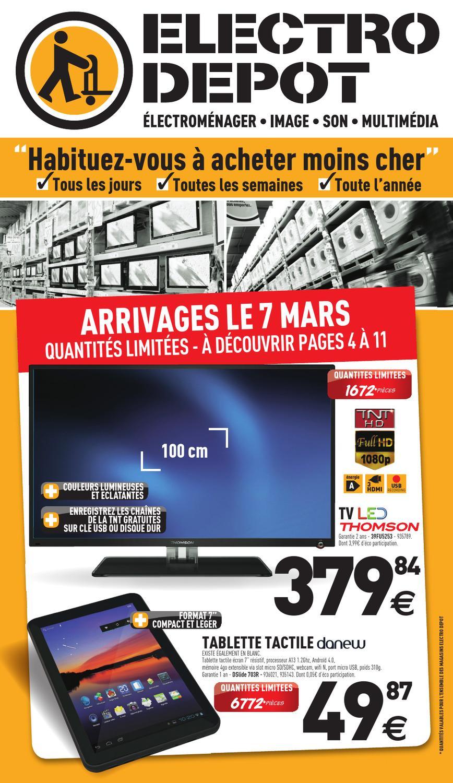 electro depot catalogue 7 31 mars 2013