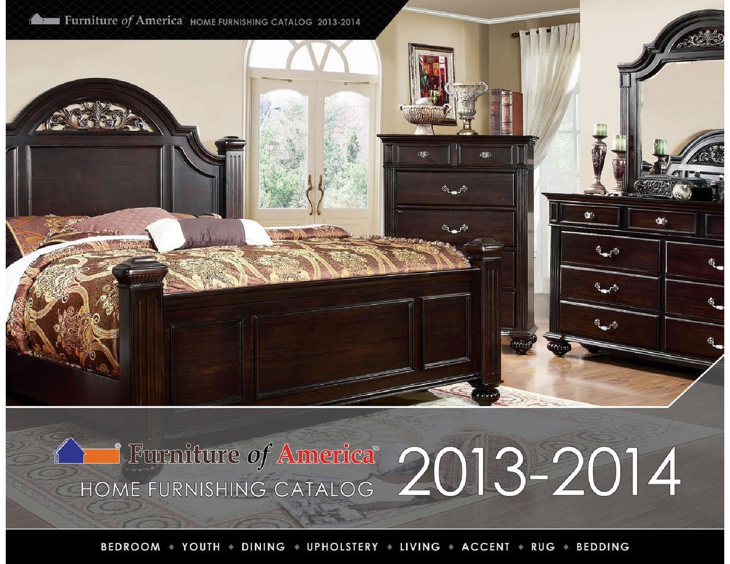 Furniture Of America 2013-2014 Bedroom Catalog By Josh