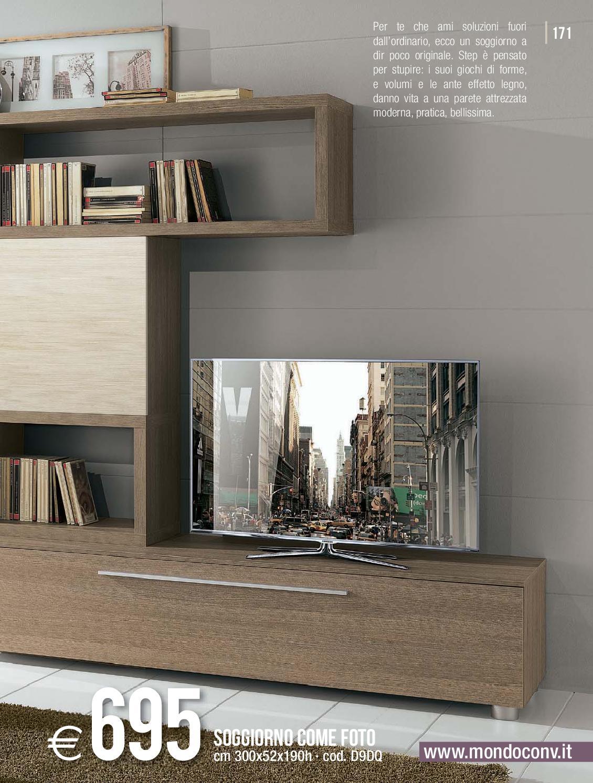 Madie, pareti attrezzate, vetrine e consolle. Mondo Convenienza Catalogo Autunno 2013 By Mobilpro Issuu