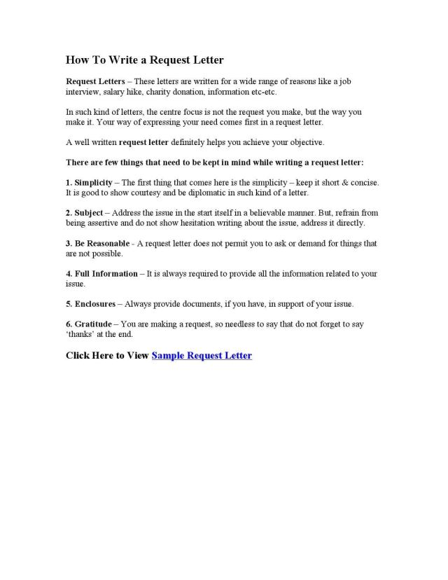 How To Write a Request Letter by Found Letters - issuu