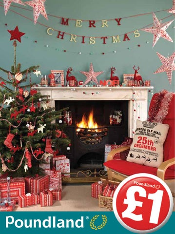 Poundland Christmas 2013 By Poundland Issuu