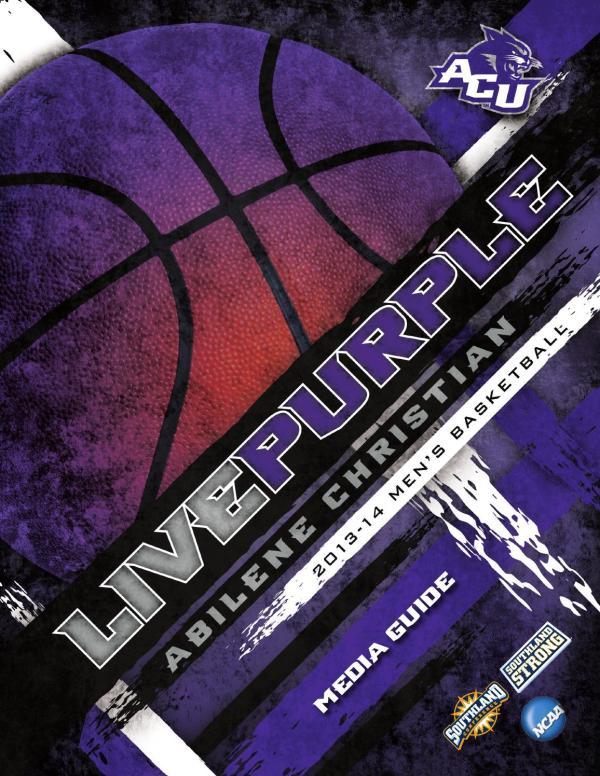 2013-14 ACU Men's Basketball Media Guide by Abilene ...