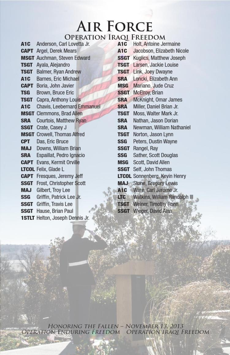 Names Of The Fallen by John Roushkolb - Issuu