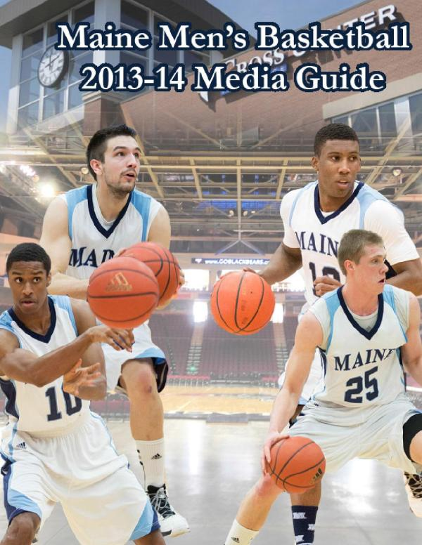 2013-14 Maine Men's Basketball Media Guide by University ...