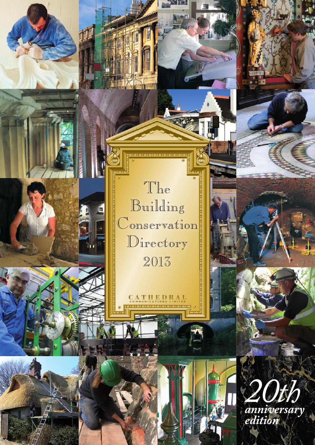 the building conservation directory