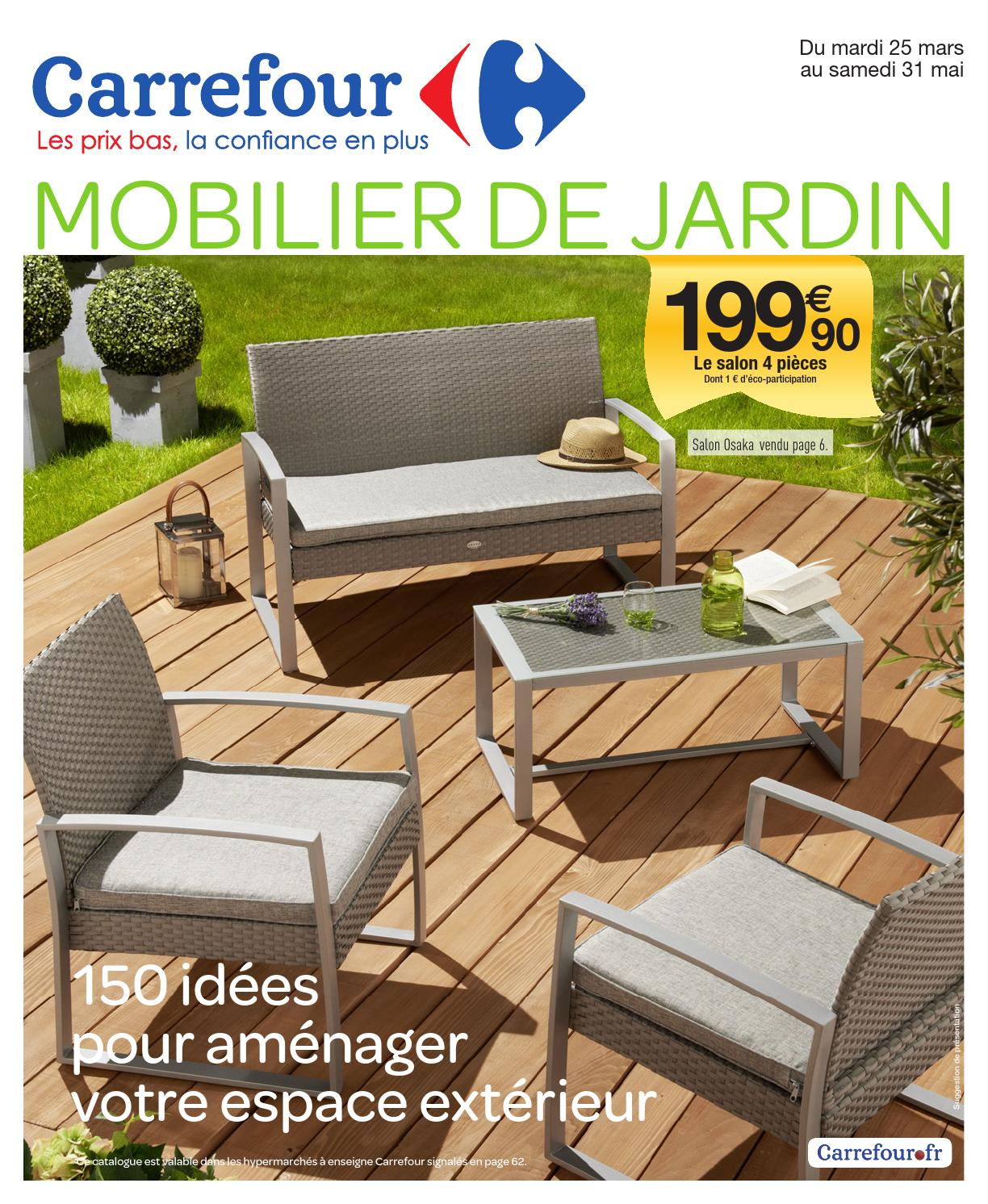 Salon De Jardin Carrefour 9 - Novocom.top