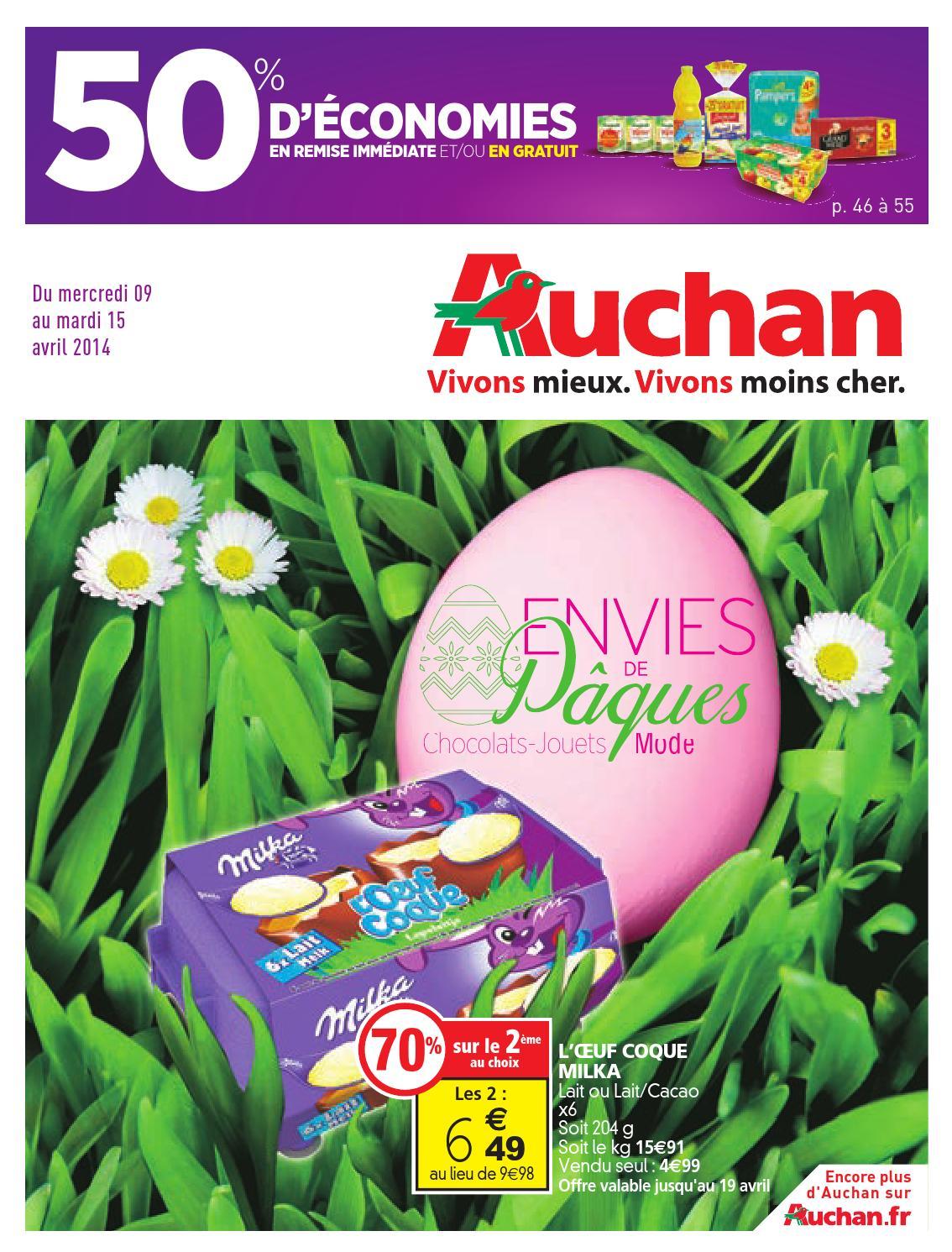 catalogue auchan du 9 au 15 avril by