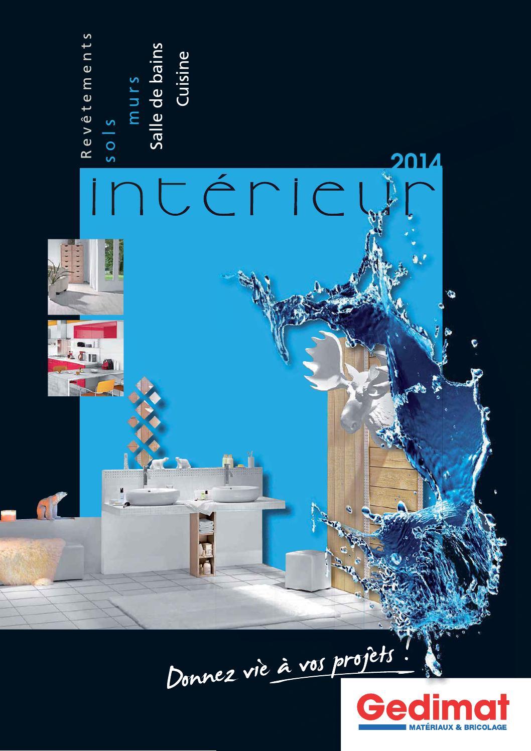 catalogue gedimat interieur 2014 by
