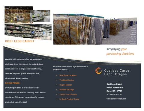 cost less carpet bend or by joni