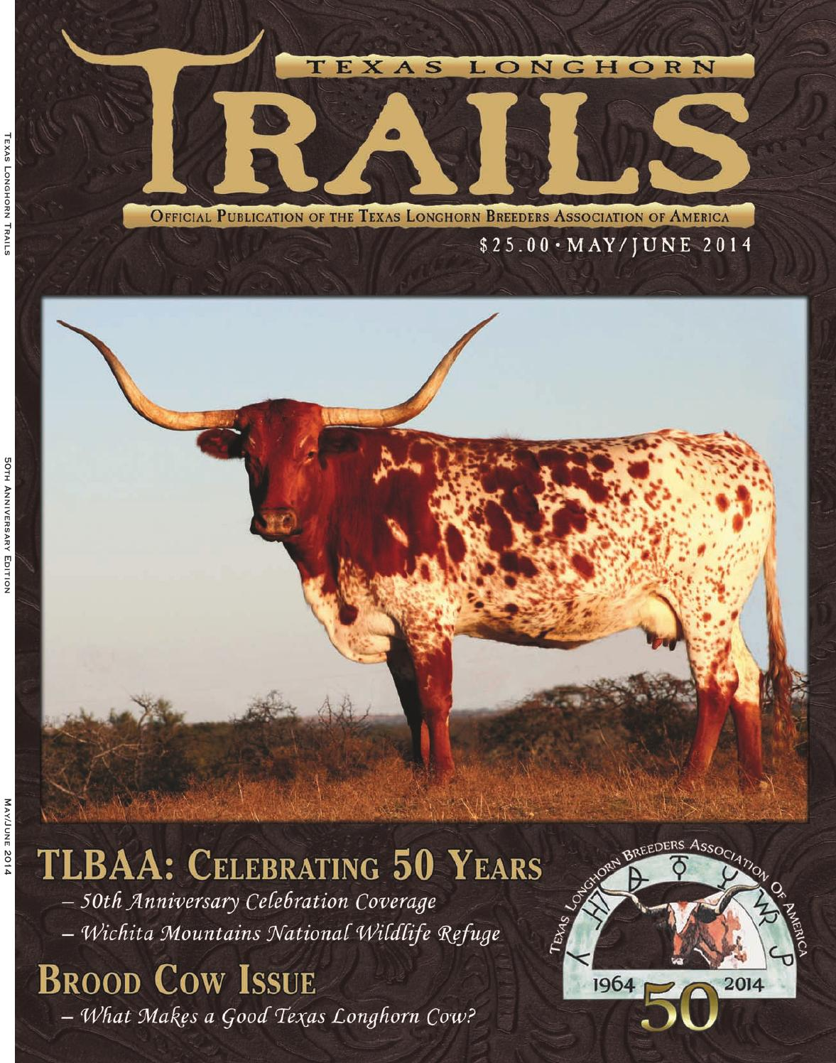 MayJune 2014 Trails Magazine 50th Anniversary Edition