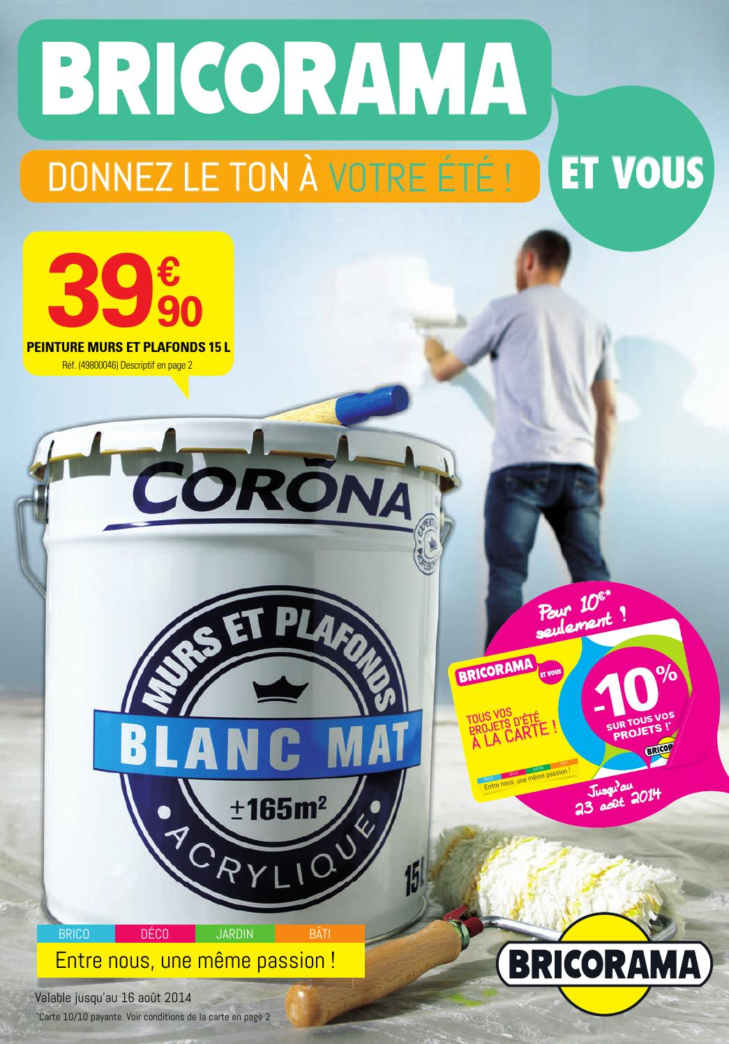bricorama catalogue 1juillet 16aout2014